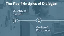 Five Principles of Dialogue