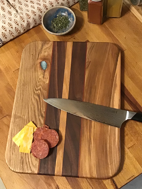 Blue Knot Cutting or Serving Board