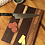 Thumbnail: Double Walnut and Maple Cutting or Serving Board