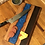 Thumbnail: Blue River with Maple Live Edge Cutting or Serving Board
