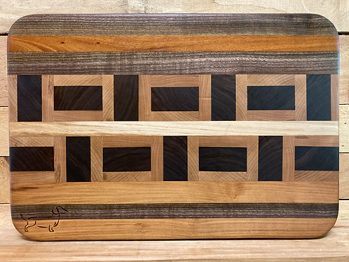 Stripes of blocks