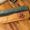 Thumbnail: Live Edge Blue Ocean Serving Board