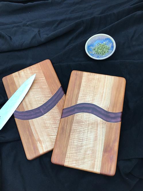 Purple Curve Cutting or Serving Board