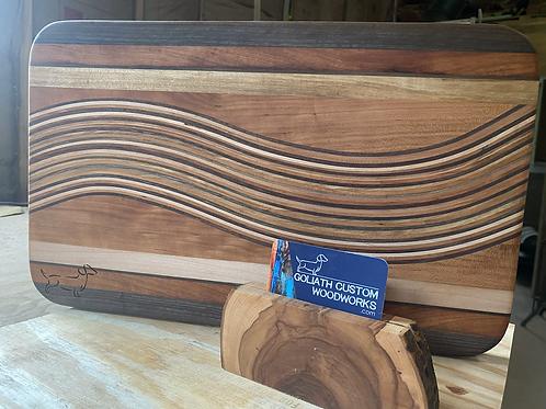 Waves of wood