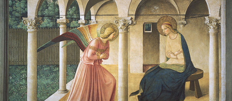 The Blessed Virgin Mary and the Moment of the Incarnation