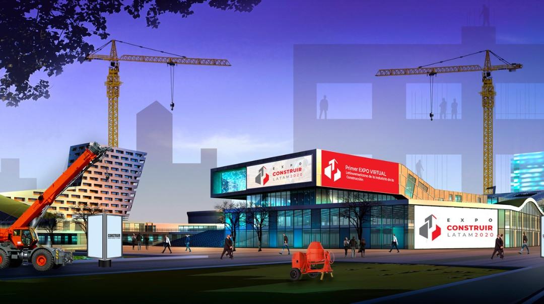 Fachada Expo Construir Latam 2020