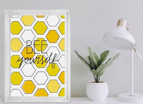 A5 BEE Yourself Print