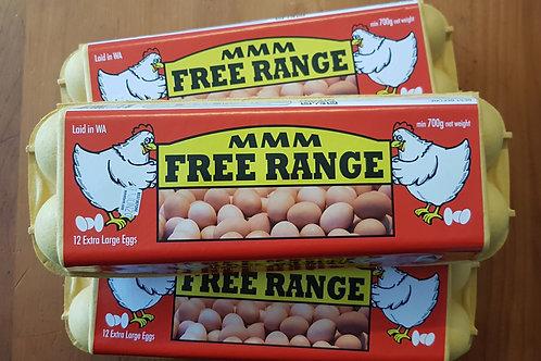 Free Range Eggs 1Dozen