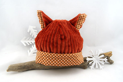 Bonnet renard - 12/18 mois
