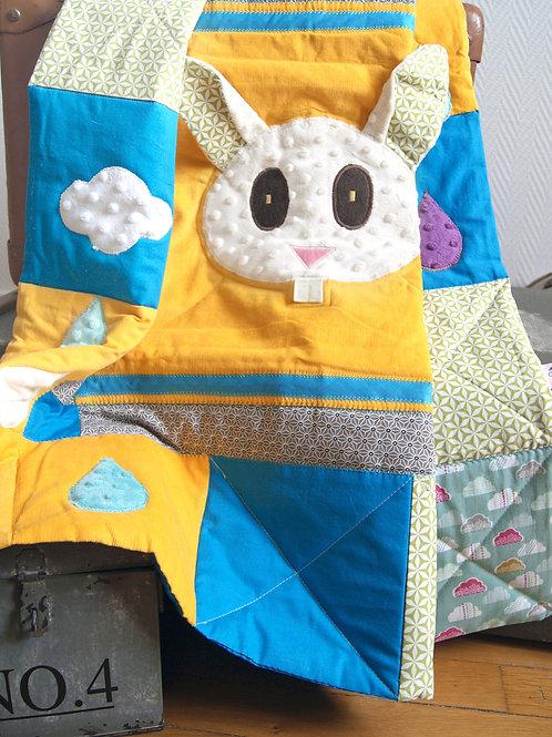 Tapis de sol pour bébé - Inspiration Montessori -  Le lapin
