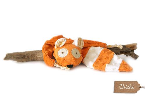 Doudou Chichi le panda roux