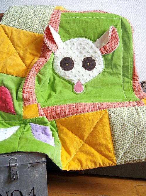 Tapis de sol pour bébé - Inspiration Montessori - La petite souris