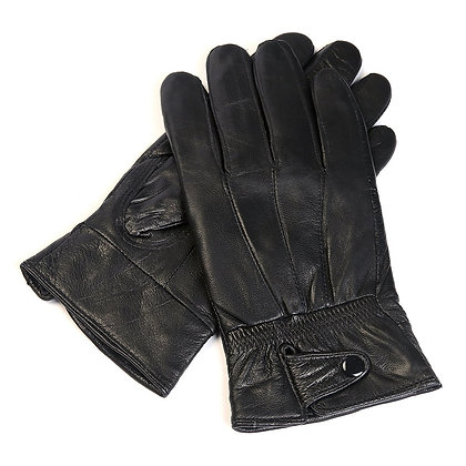 Mad Man Leather Driving Gloves Black