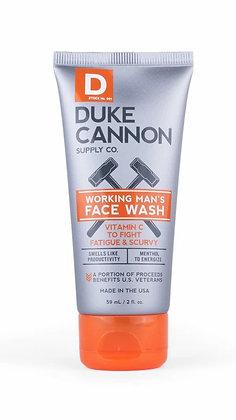 Duke Cannon- Working Man's Face Wash