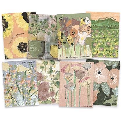 Note Card Set - Botanical