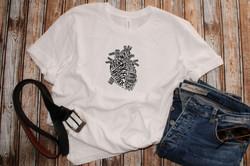 Heart Custom Tishirt