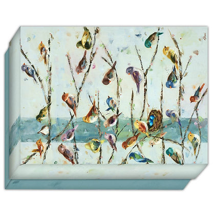 Community Birds - Boxed Note Cards Box of 15