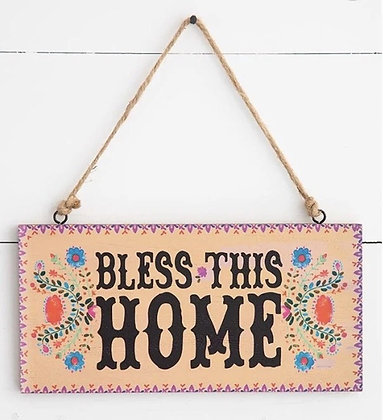Natural Life Bless this Home Sing