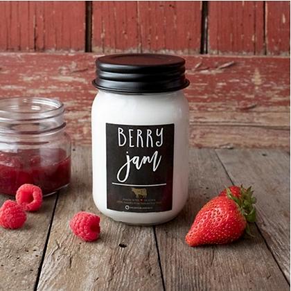 Farmhouse Mason Jar 13 oz: Berry Jam