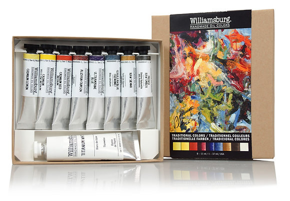 Williamsburg Handmade Oil Colors - Traditional Color Set