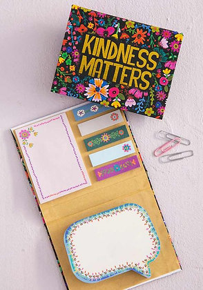 Natural Life Kindness Matters Sticky Notes Book