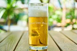 Beer Glass Etching