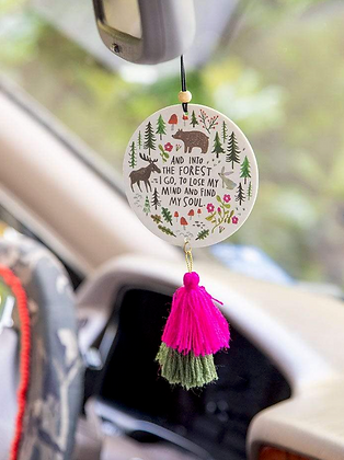 Natural Life Into The Forest Air Freshener