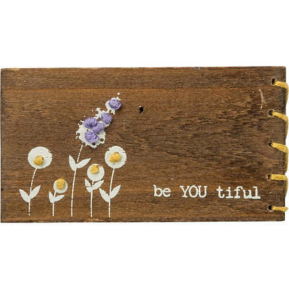 Primitives by Kathy Stitched Block  - be YOU tiful