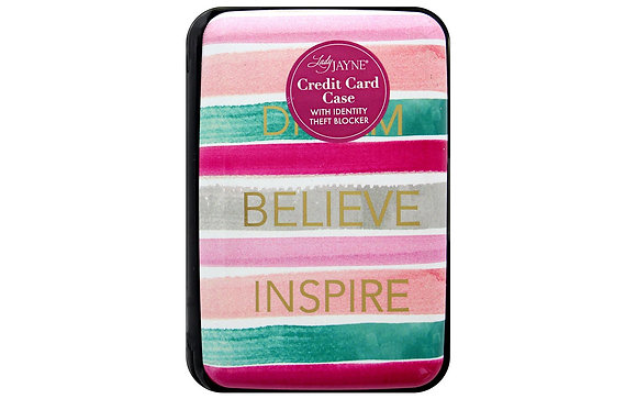 Lady Jayne Cases Credit Card Dream Believe Inspire