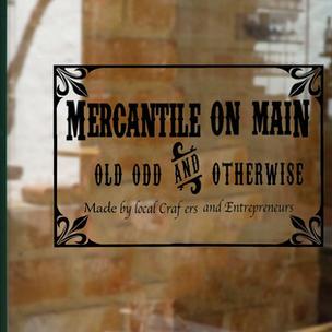 Mercantile On Main Store Window