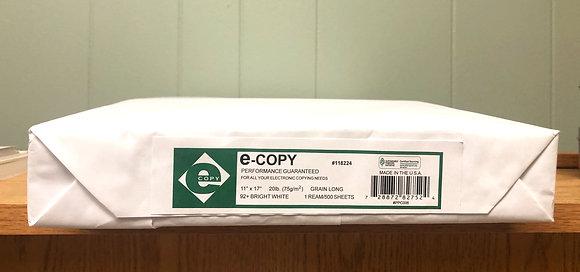 "ECopy printing paper, (8 1/2"" x 17""), 20 Lb, Ream Of 500 Sheets"