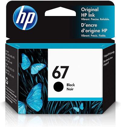 HP Ink 67 Black