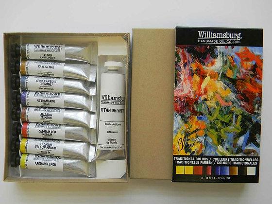 Williamsburg Handmade Oil Colors - Landscape Color Set