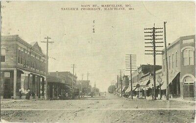 Marceline-MO-Missouri-1908-Postcard-Main
