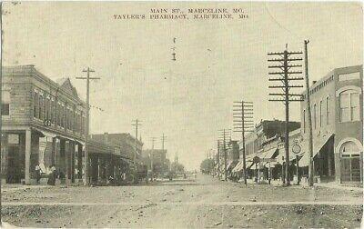Marceline-MO-Missouri-1908-Postcard-Main