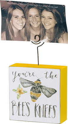 Primitives by Kathy Photo Block - You're The Bee's Knees