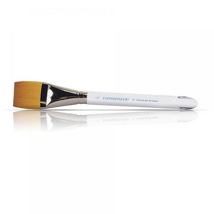 Connoisseur  Flat Watercolor Gold Taklon Blend Brush
