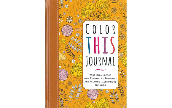Racehorse Publishing Color This Journal Book