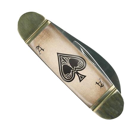 Ace of Spades Mack the Knife- Pocket Knife