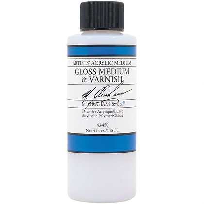 M. Graham Acrylic Gloss Medium