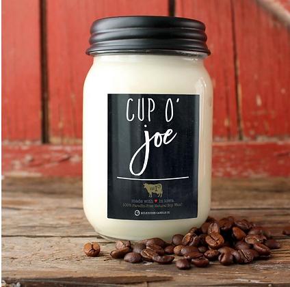 Farmhouse Mason Jar 13 oz: Cup O' Joe