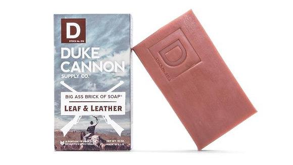 Duke Cannon Leaf and Leather Soap
