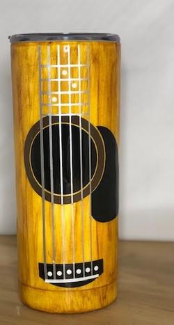 Guitar wood Tumbler