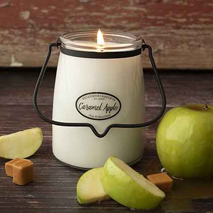 Milkhouse Butter Jar: 22 Oz- Caramel Apple