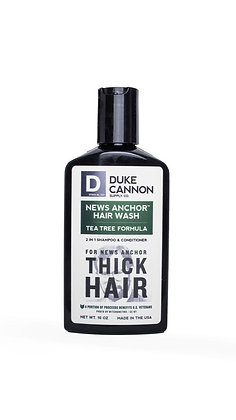 Duke Cannon- 2-in-1 Hair Wash - TEA TREE