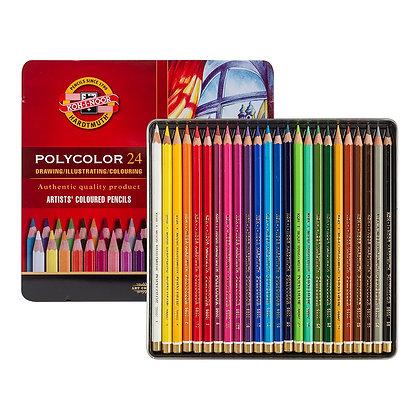 copy of Koh-I-Noor PolyColor Artist Colored Pencils Set 24