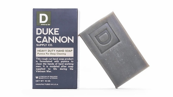 Duke Cannon Heavy Duty Soap - Pumice