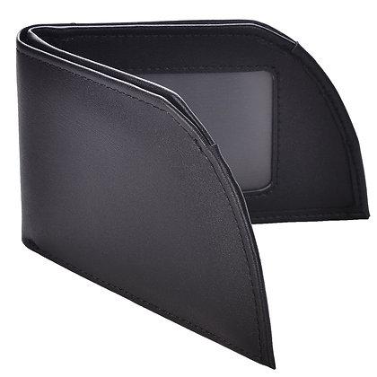 Mad Man Front Pocket Wallet-Black