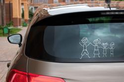 Family Car Decal