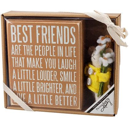 Felt Gift Set - Best Friends